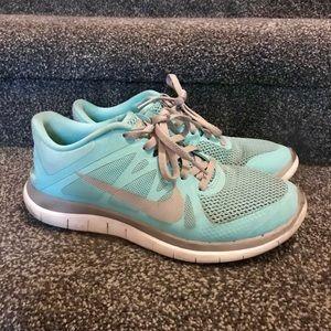 7c9e6b851dda Nike Shoes - Nike free run 4.0 in Tiffany blue